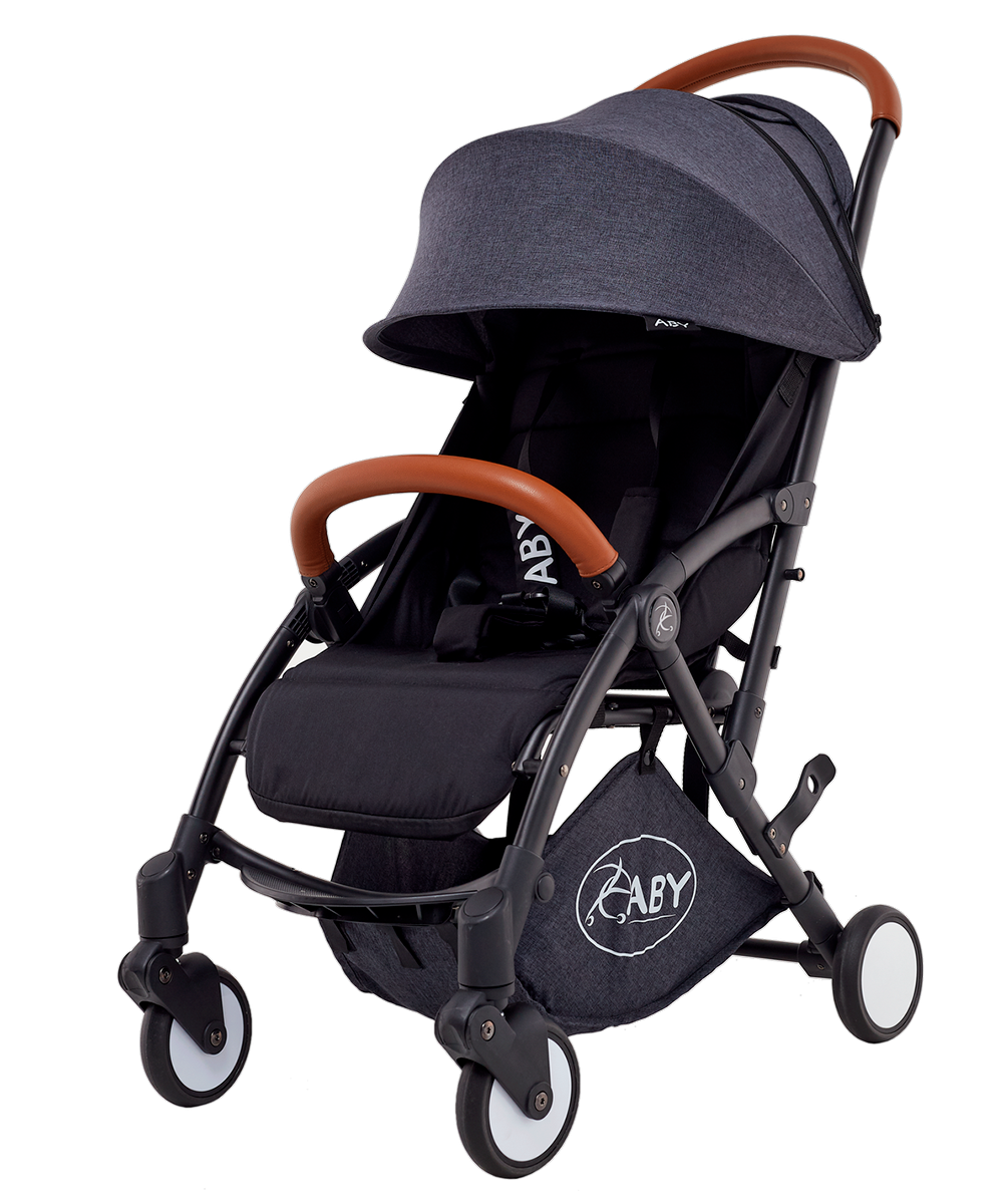 Коляска Aby Kingmoon 728 Dark gray